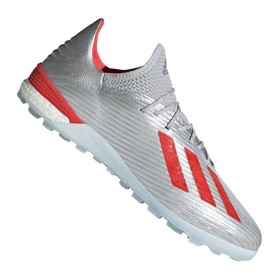 Сороконожки adidas X 19.1 TF Silver/Red/White