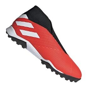 Сороконожки adidas Nemeziz 19.3 TF Laceless Red/White