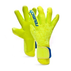 Вратарские перчатки Reusch Pure Contact II S1 Pro Green/Yellow