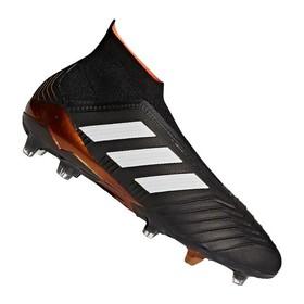Бутсы adidas Predator 18+ FG/AG Black/White/Gold