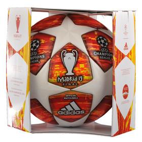 Футбольный мяч adidas Champions League 2019 Final Madrid OMB White/Red