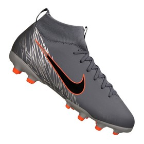 Детские бутсы Nike Mercurial Superfly VI Academy MG Blue/Black/Grey