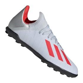 Детские сороконожки adidas X Tango 19.3 TF Silver/Red