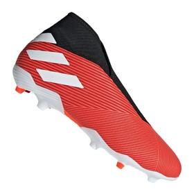Бутсы adidas Nemeziz 19.3 FG/AG Laceless Red/White