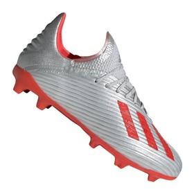 Детские бутсы adidas X 19.1 FG/AG Silver/Red/White