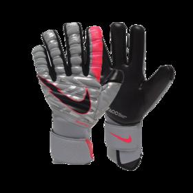 Вратарские перчатки Nike GK Phantom Elite ACC Particle Grey/Laser Crimson/Black