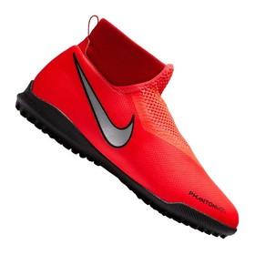 Детские сороконожки Nike Phantom Vision Academy DF TF Crimson/Silver