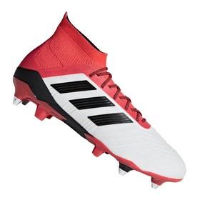 Бутсы adidas Predator 18.1 SG White/Black/Red
