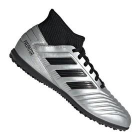 Детские сороконожки adidas Predator Tango 19.3 TF Silver/Black