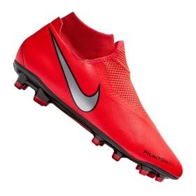 Бутсы Nike Phantom Vision Academy DF MG Crimson/Silver