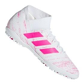 Сороконожки adidas Nemeziz Tango 18.3 TF White/Pink