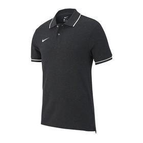 Футболка поло Nike Team Club 19 Grey