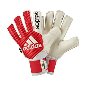 Вратарские перчатки adidas Classic Fingersave White/Red/Black