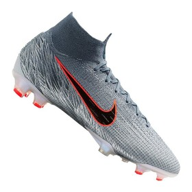 Бутсы Nike Mercurial Superfly VI Elite FG Grey/Black/Blue
