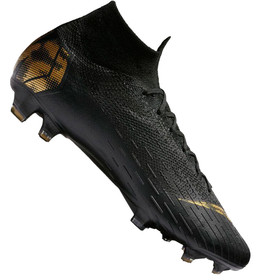 Бутсы Nike Mercurial Superfly VI Elite FG Black/Gold