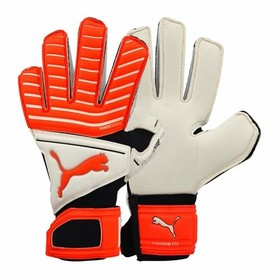 Вратарские перчатки Puma One Grip 17.2 IC White/Red/Black