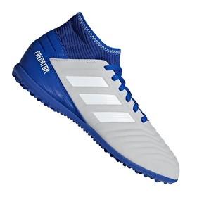 Детские сороконожки adidas Predator Tango 19.3 TF Grey/White/Blue