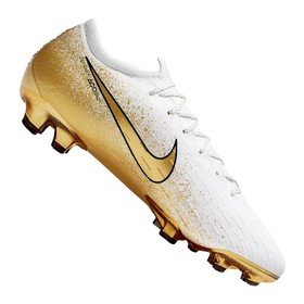 Бутсы Nike Mercurial Vapor XII Elite FG White/Gold/Silver LIMITED EDITION