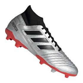 Бутсы adidas Predator 19.3 FG/AG Silver/Black/Red