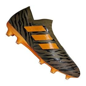 Бутсы adidas Nemeziz 17+ FG/AG Olive/Orange/Black