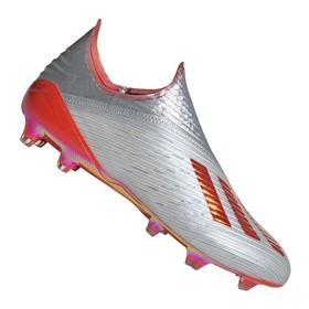 Бутсы adidas X 19+ FG/AG Silver/Red