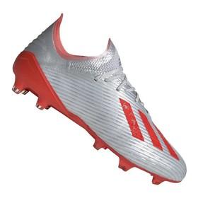 Бутсы adidas X 19.1 FG/AG Silver/Red