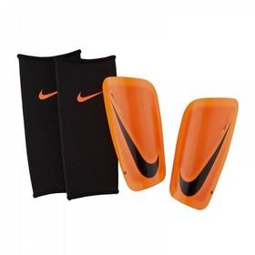 Футбольные щитки Nike Mercurial Lite Orange/Black