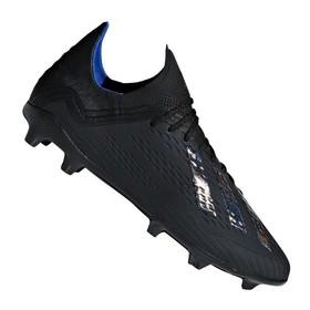 Детские бутсы adidas X 18.1 FG/AG Black/Blue