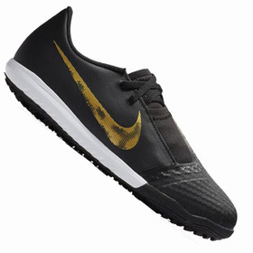 Детские сороконожки Nike Phantom Venom Academy TF Black/Gold/White