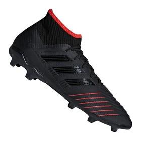 Детские бутсы adidas Predator 19.1 FG/AG Black/Red