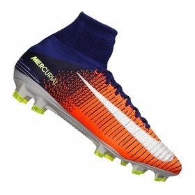 Бутсы Nike Mercurial Superfly V DF FG Crimson/Citrus