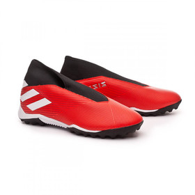 Сороконожки adidas Nemeziz 19.3 TF Laceless Red/White