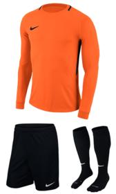 Вратарская форма Nike Dry Park III Orange/Black