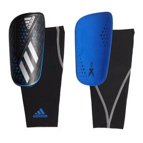 Футбольные щитки adidas X Foil Blue/Black