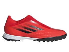 Сороконожки adidas X Speedflow.3 Laceless TF Red/Core Black/Solar Red