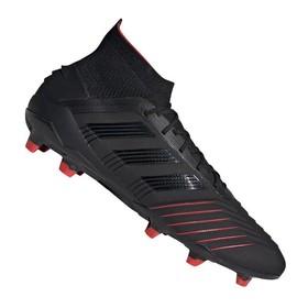 Бутсы adidas Predator 19.1 FG/AG Black/Red