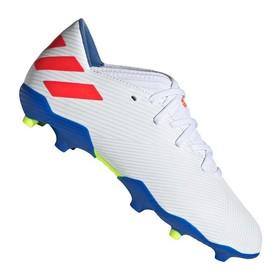 Детские бутсы adidas Nemeziz Messi 19.3 FG/AG White/Red/Blue