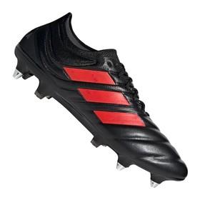 Бутсы adidas Copa 19.1 SG Black/Red/Silver