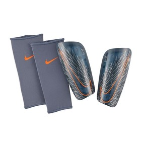 Футбольные щитки Nike Mercurial Lite Blue/Orange