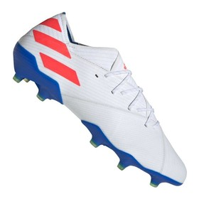 Бутсы adidas Nemeziz Messi 19.1 FG/AG White/Red/Blue