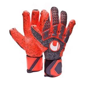 Вратарские перчатки Uhlsport Aerored Supergrip HN Gray/Orange