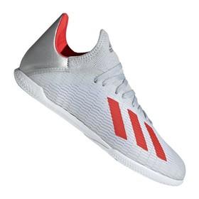Детские футзалки adidas X Tango 19.3 IN Silver/Red