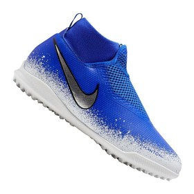 Детские сороконожки Nike Phantom Vision Academy DF TF Blue/White