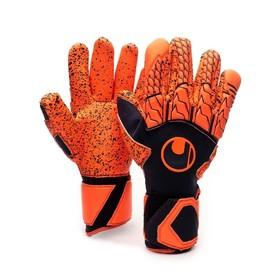 Вратарские перчатки Uhlsport Next Level Supergrip Finger Surround Dark Blue/Orange
