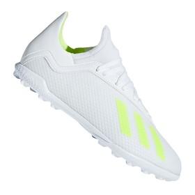 Детские сороконожки adidas X Tango 18.3 TF White/Yellow