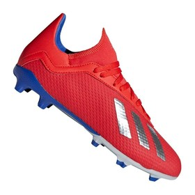 937b9be0cd4847 Детские бутсы adidas X 18.3 FG Red/Silver/Blue