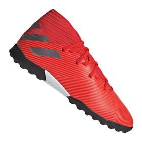 Детские сороконожки adidas Nemeziz Tango 19.3 TF Red/Silver/Red