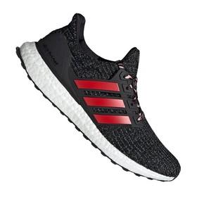 Кроссовки Adidas UltraBoost Dark Grey/Red