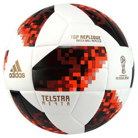 Футбольный мяч Adidas Telstar 2018 Mechta Top Replique White/Red/Black