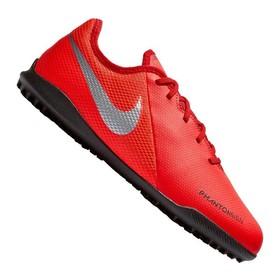 Детские сороконожки Nike Phantom Vision Academy TF Crimson/Silver